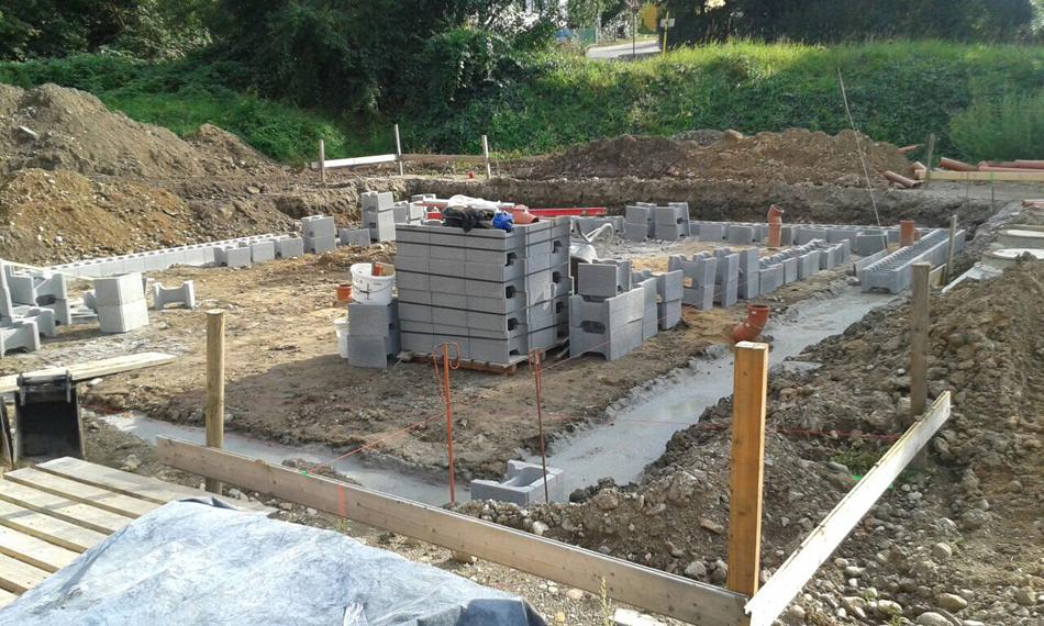 Baubeginn eines weiteren EFH
